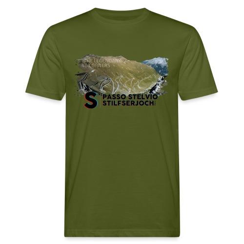 48 Haarnadelkurven - Männer Bio-T-Shirt