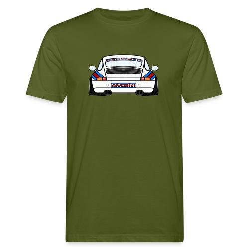 White Sports Car Maritini Livery - Men's Organic T-Shirt