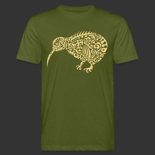Kiwi Maori - Männer Bio-T-Shirt