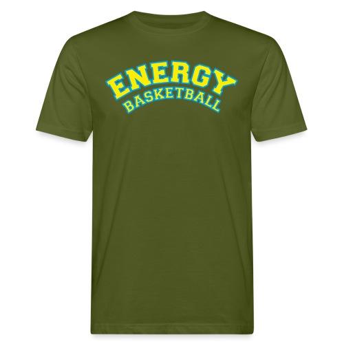 eco logo energy basketball giallo - T-shirt ecologica da uomo