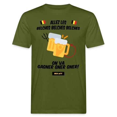 Allez les belches! - T-shirt bio Homme