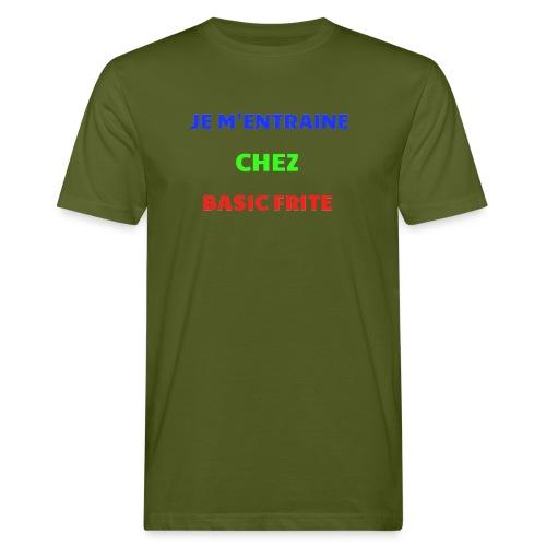 Basic Frite - T-shirt bio Homme