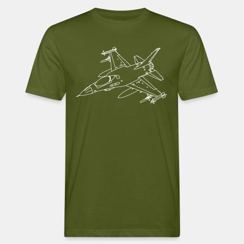 F-16 Viper / Fighting Falcon jet fighter / F16 - Men's Organic T-Shirt