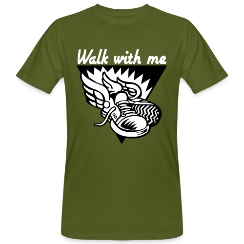WALK WITH ME - Men's Organic T-Shirt