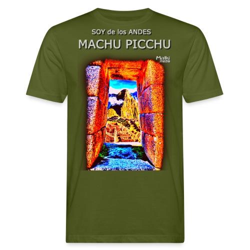 SOJA de los ANDES - Machu Picchu I - Camiseta ecológica hombre