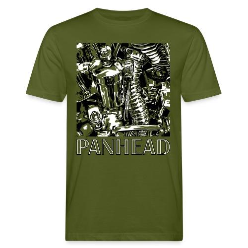 Panhead motordetail 03 - Mannen Bio-T-shirt