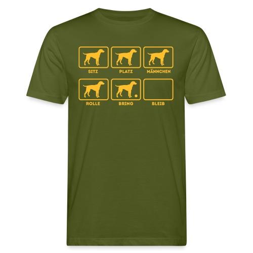 Für alle Hundebesitzer mit Humor - Männer Bio-T-Shirt