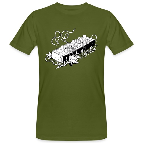 Modular Synthesizer - Black & White - Männer Bio-T-Shirt