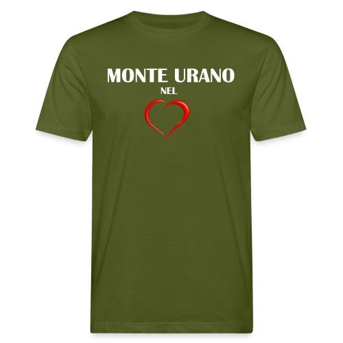 Monte Urano nel Cuore - T-shirt ecologica da uomo