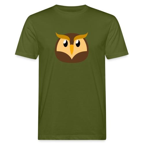 Eule »Schuhu« - Men's Organic T-Shirt