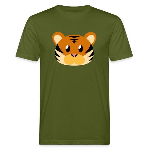 Tiger »Tom« - Men's Organic T-Shirt