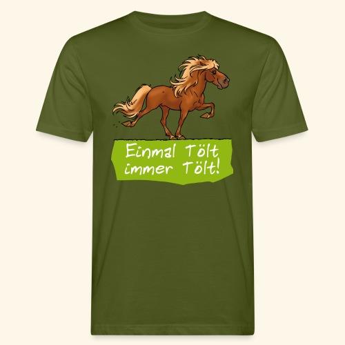 Island Pferd Tölt - T-shirt bio Homme