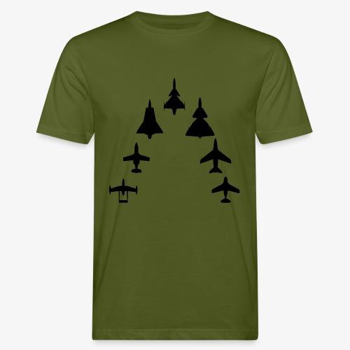 Swedish Air Force - Jet Fighter Generations - Ekologisk T-shirt herr