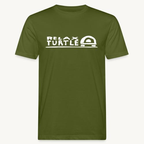 relax-turtle - Männer Bio-T-Shirt