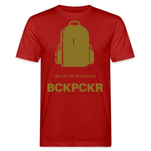 Backpacker - Männer Bio-T-Shirt