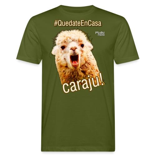 Quedate En Casa Caraju - Camiseta ecológica hombre