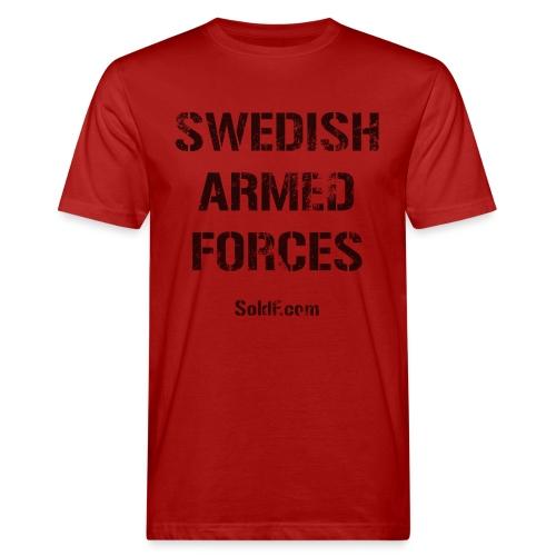 Swedish Armed Forces - Ekologisk T-shirt herr