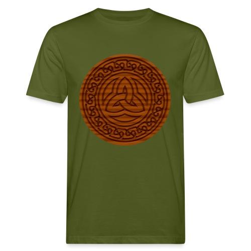 Triquetra Celtic Knot - Men's Organic T-Shirt