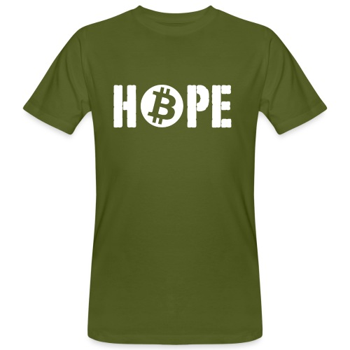 Black HOPE BTC - T-shirt bio Homme