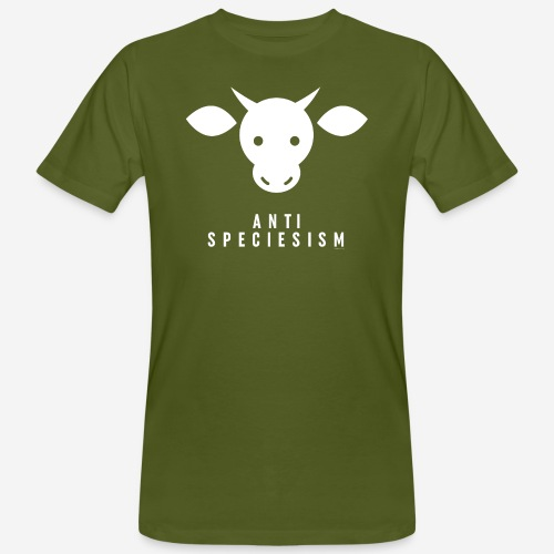 Antispeciesism Single Edition – Cow - Männer Bio-T-Shirt