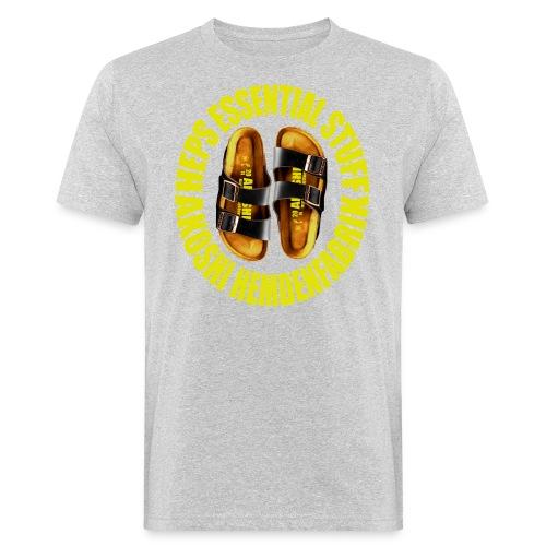 Laatschen Kitty vs. zitrone - Männer Bio-T-Shirt