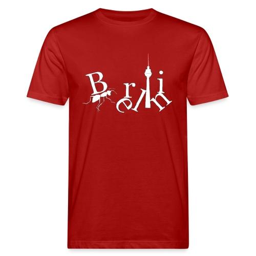 Berlin Fernsehturm, Alexanderplatz - Männer Bio-T-Shirt