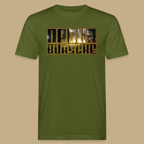 Naturebursche Wood - Männer Bio-T-Shirt