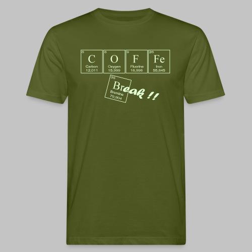 Coffee Break - Men's Organic T-Shirt
