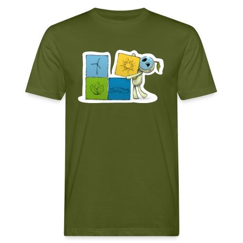 wuerfel - Männer Bio-T-Shirt