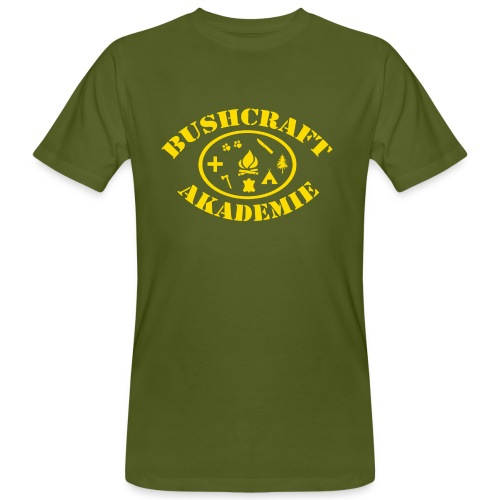 Bushcraft Akademie png - Männer Bio-T-Shirt