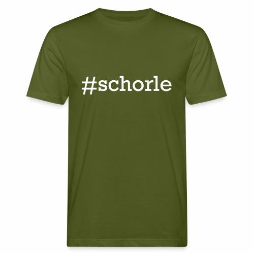#schorle - Männer Bio-T-Shirt