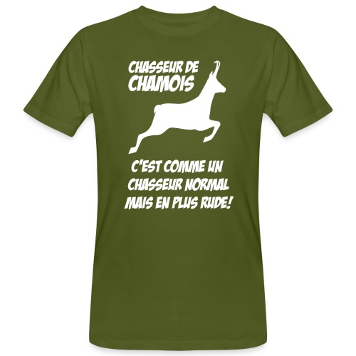 Chasseur de chamois - T-shirt bio Homme