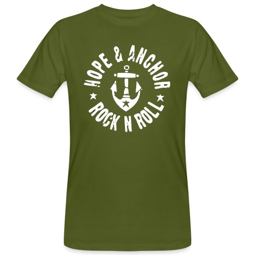 HOPE & ANCHOR-Rock´n´Roll - Männer Bio-T-Shirt