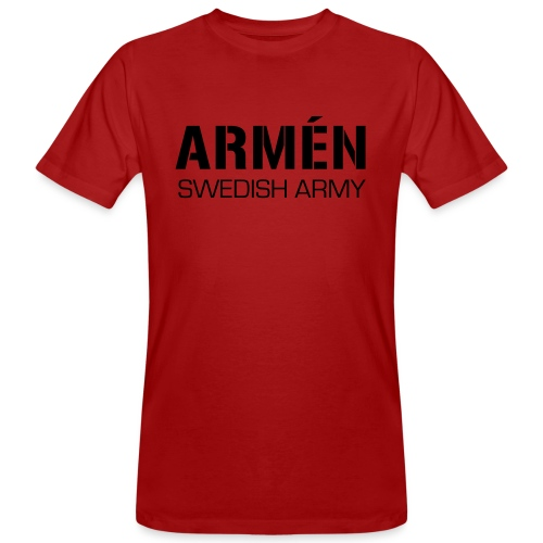 ARMÉN -Swedish Army - Ekologisk T-shirt herr