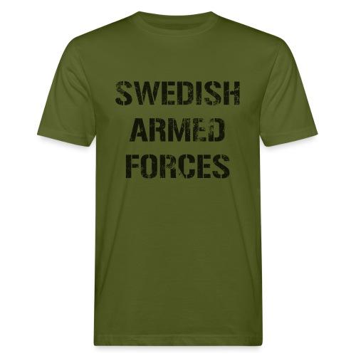 SWEDISH ARMED FORCES - Rugged - Ekologisk T-shirt herr