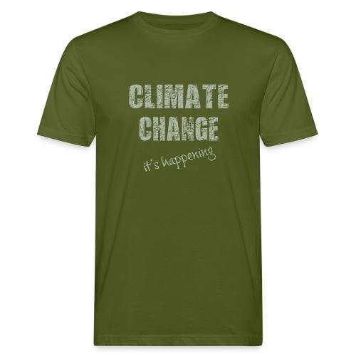 Climate change - Mannen Bio-T-shirt