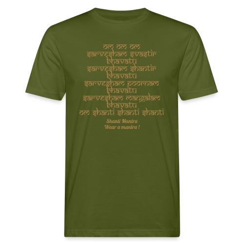 Om Sarvesham - T-shirt ecologica da uomo