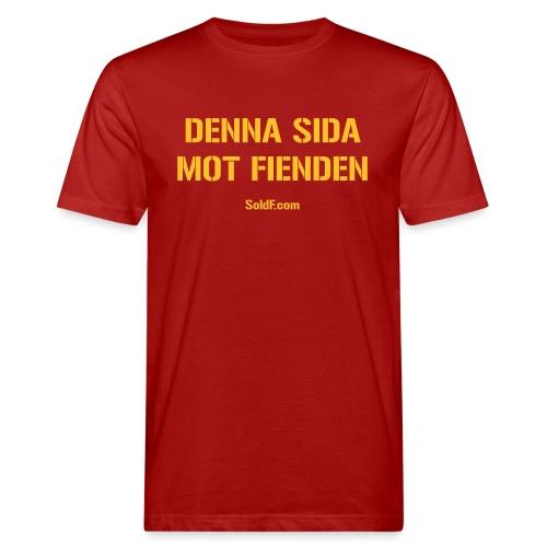 DENNA SIDA MOT FIENDEN (Vektor) - Ekologisk T-shirt herr