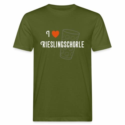 I ♥ Rieslingschorle - Männer Bio-T-Shirt