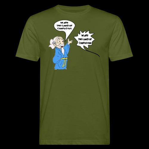 konfuss - Männer Bio-T-Shirt
