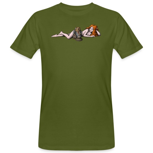 Busy Beaver - Men's Organic T-Shirt