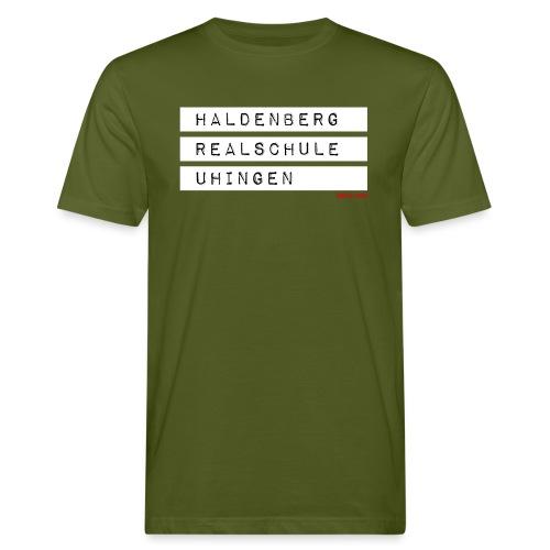 HRSU Wear Tape white - Männer Bio-T-Shirt