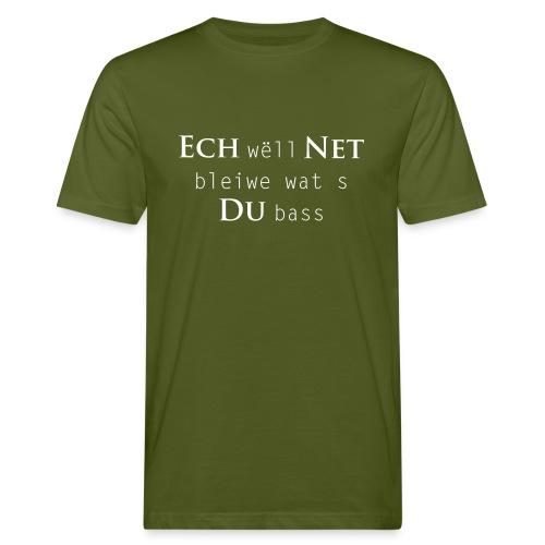 Net Du - Männer Bio-T-Shirt