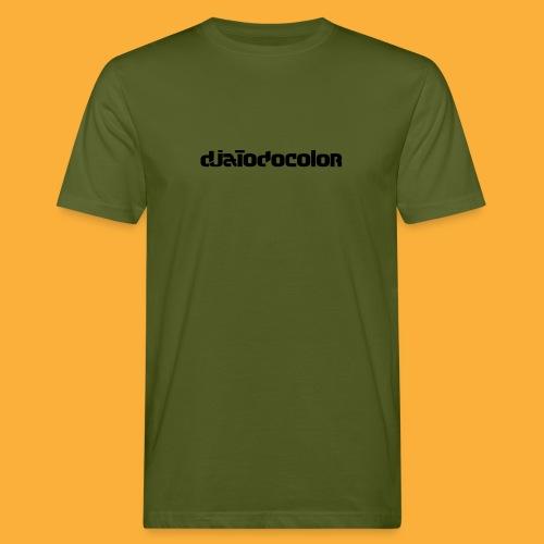 DJATODOCOLOR LOGO NEGRO - Camiseta ecológica hombre