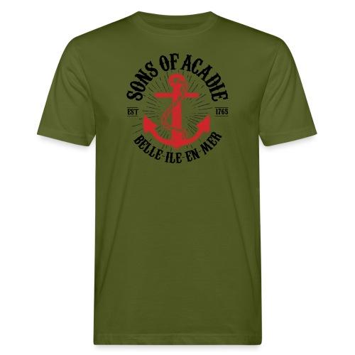 Sons Of Acadie Ancre de Marine - T-shirt bio Homme