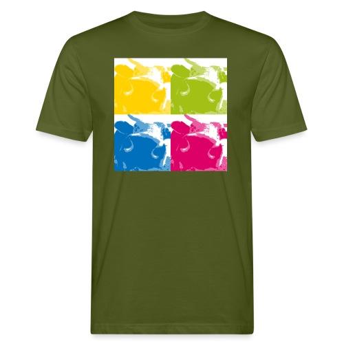 4 Kühe - Männer Bio-T-Shirt