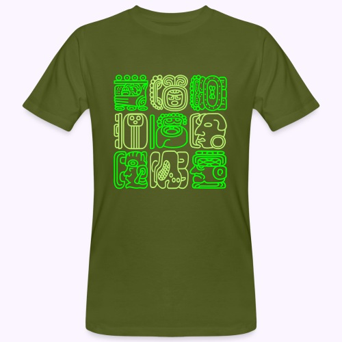 Maya Bolontiku - Miesten luonnonmukainen t-paita