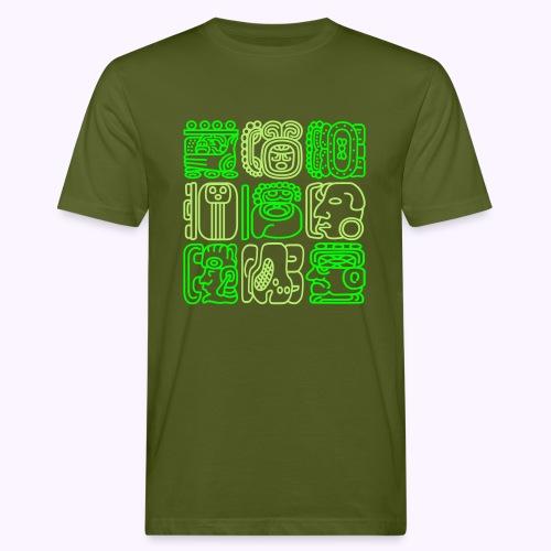 Mayan Bolontiku - Mannen Bio-T-shirt