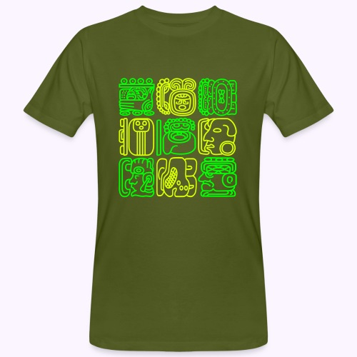 Bolontiku Maya - Camiseta ecológica hombre