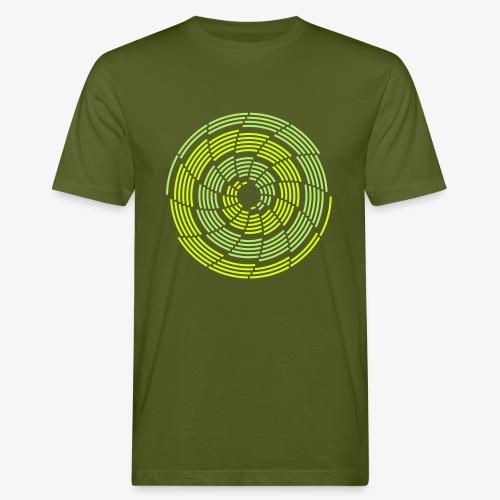 Stroke Galaxy - Männer Bio-T-Shirt